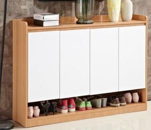 Mẫu tủ giày gỗ MDF - VD 2